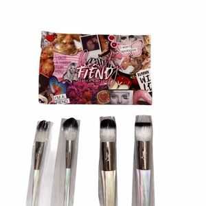 Jessica Simpson Makeup Brushes Set of 4 New